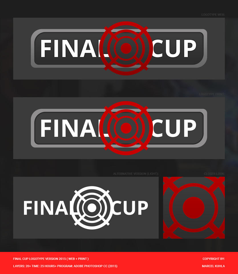 Final Cup Logotype Version 2015 by FollowCandyPanda