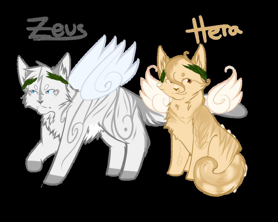 Zeus and Hera Feline Adopt :: OPEN :: by Love-Adopts