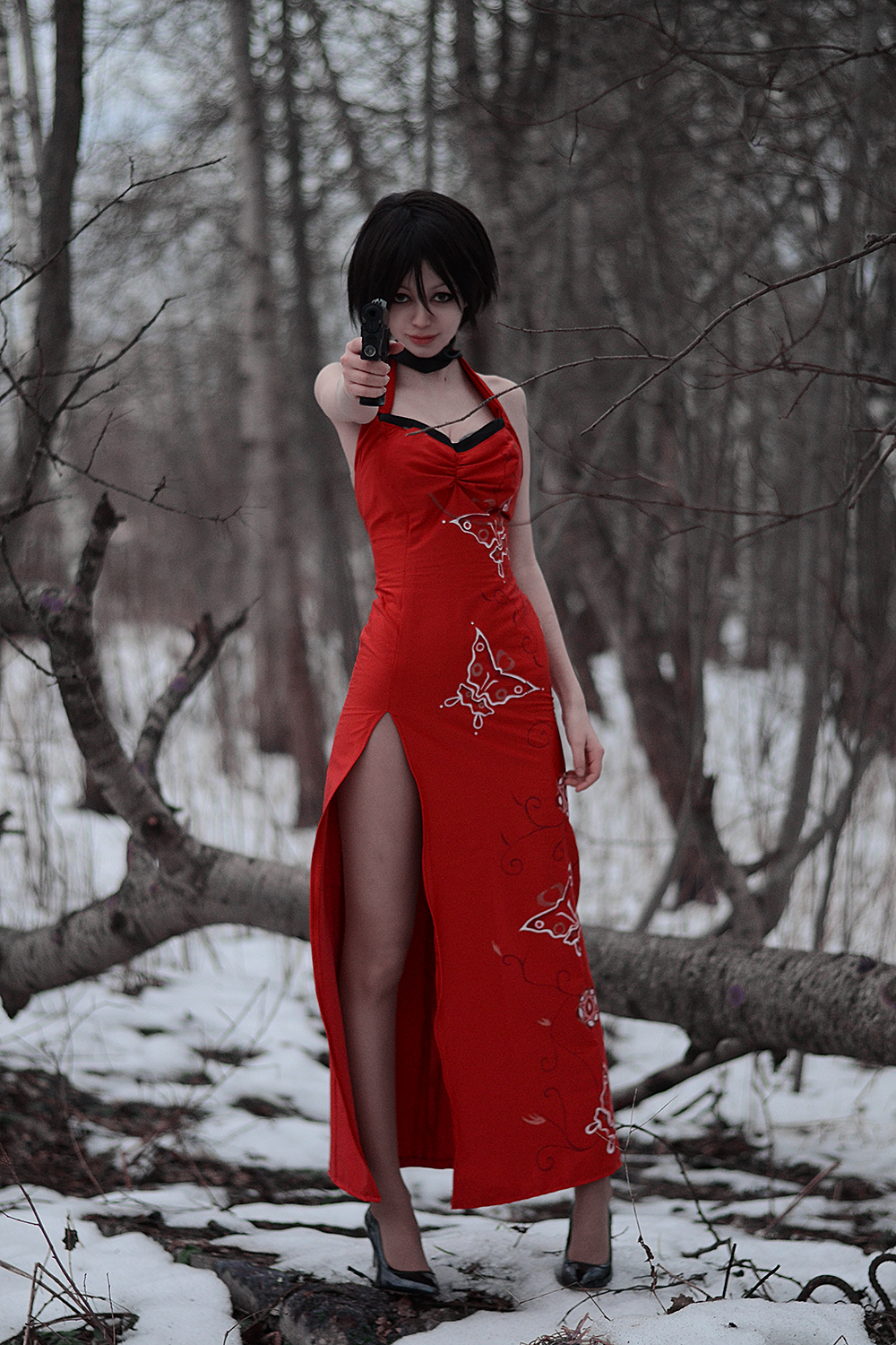 Ada Wong is watching you! by Onity