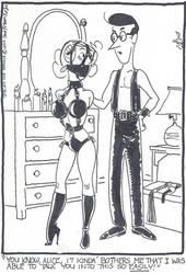 Alice and Henry, leather fun by kiff57krocker