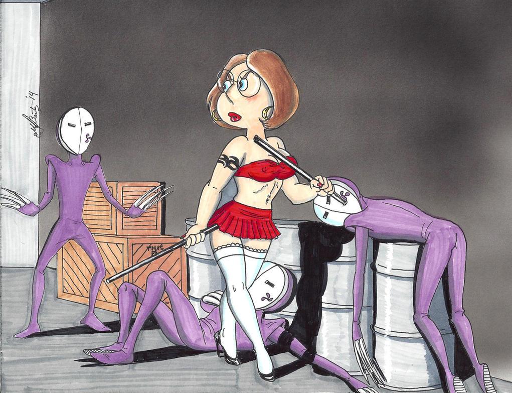Meg vs. The Purple Assassins 2. Stickin' It. by kiff57krocker