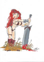 Rhonda the Barbarian by kiff57krocker