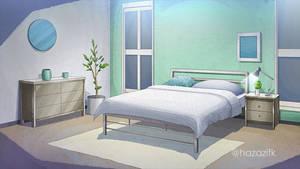 Bedroom night on