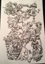 Doodle Bots by TimBaldwin