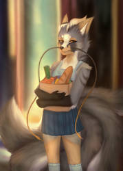 Realistic style.Furry Shop by SadCranberry