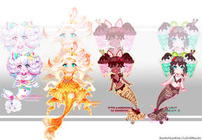 [1 LEFT] Mermay Special Adopts + PRICE REDUCTION by RamboNyanKitty