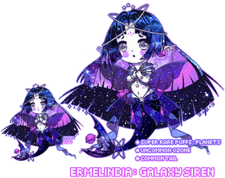 [OPEN ADOPTABLE] Galaxy Siren + PRICE REDUCTION by RamboNyanKitty