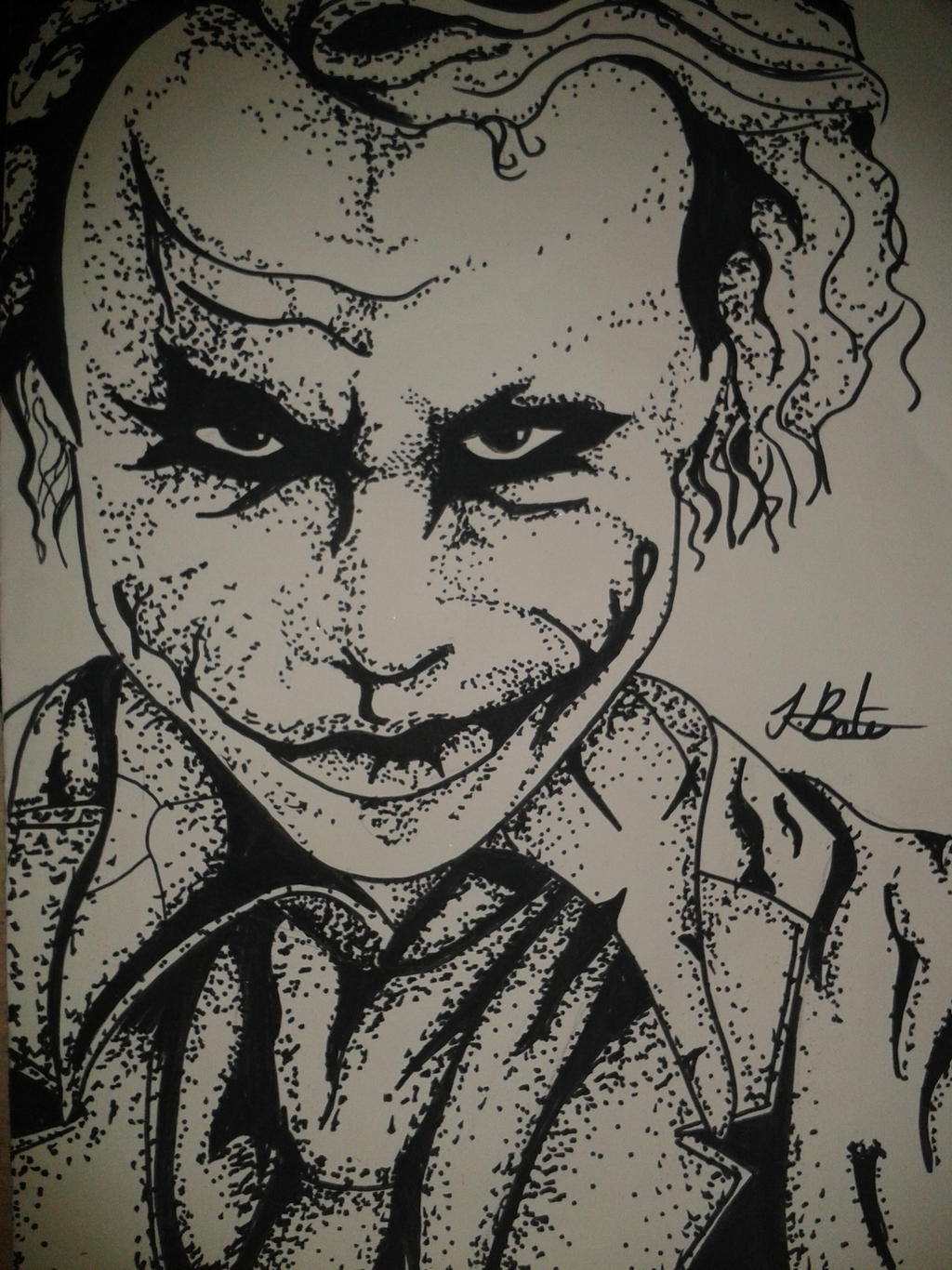 Easy Joker Drawings Easy Gangster Joker Drawings