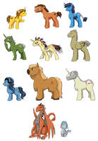 Ponies of the Old Republic by surfersquid