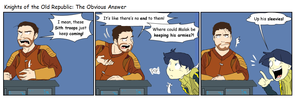 KotOR: The Obvious Answer by surfersquid