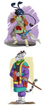 Shadow of Takeryuu characters 2