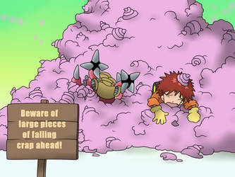 Crap Pile by KonanTheAngel