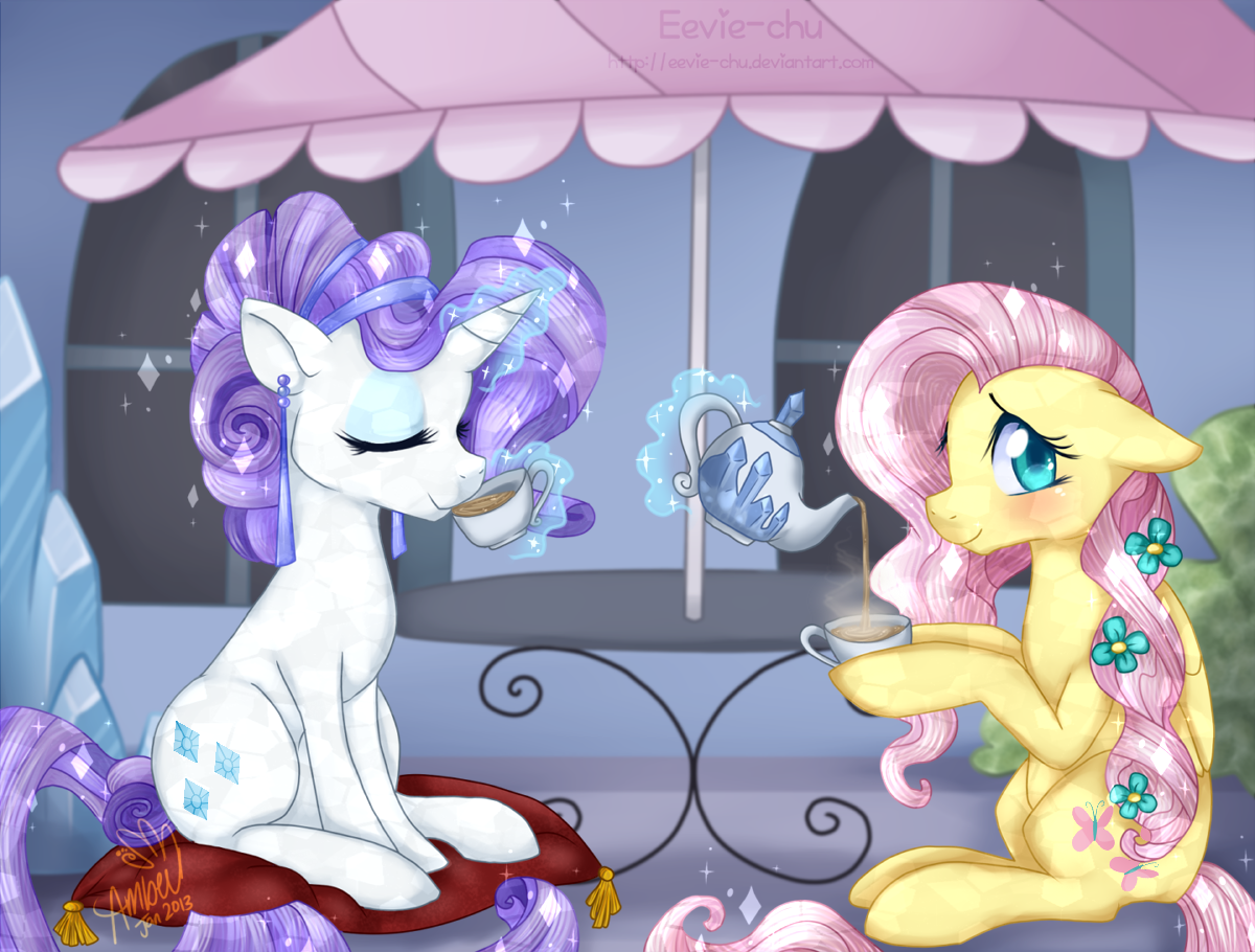 Crystal Tea Party by Eevie-chu