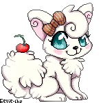 Puptarts Visitor Gift - Cream Pixel by Ambunny