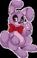 Bonnie says hi by Ambunny
