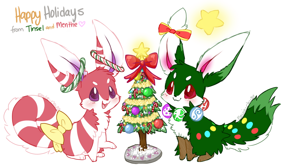 Peppermint and Pine by Eevie-chu