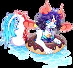 Donut Float