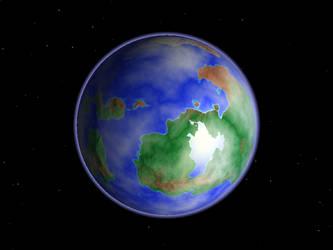 Towards the Terra by ksleet