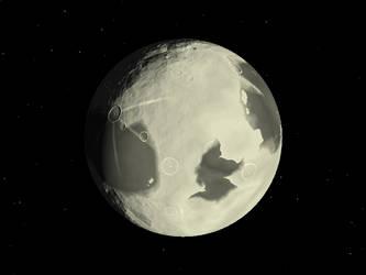 La Lune by ksleet