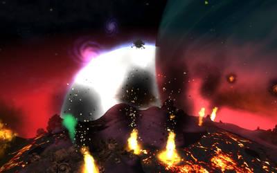 Spore: Planet of Fire by ksleet
