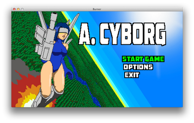 A. CYBORG Title Screen by ksleet