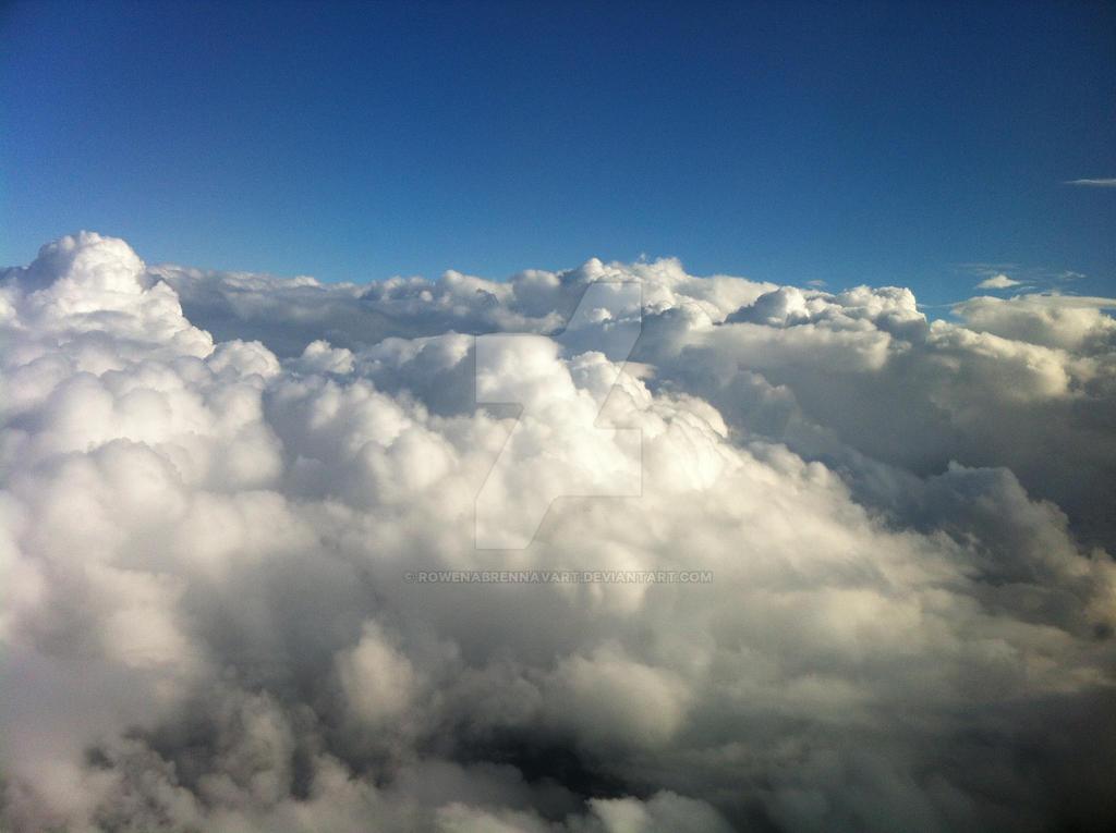 Sea of clouds II by rowenabrennavart