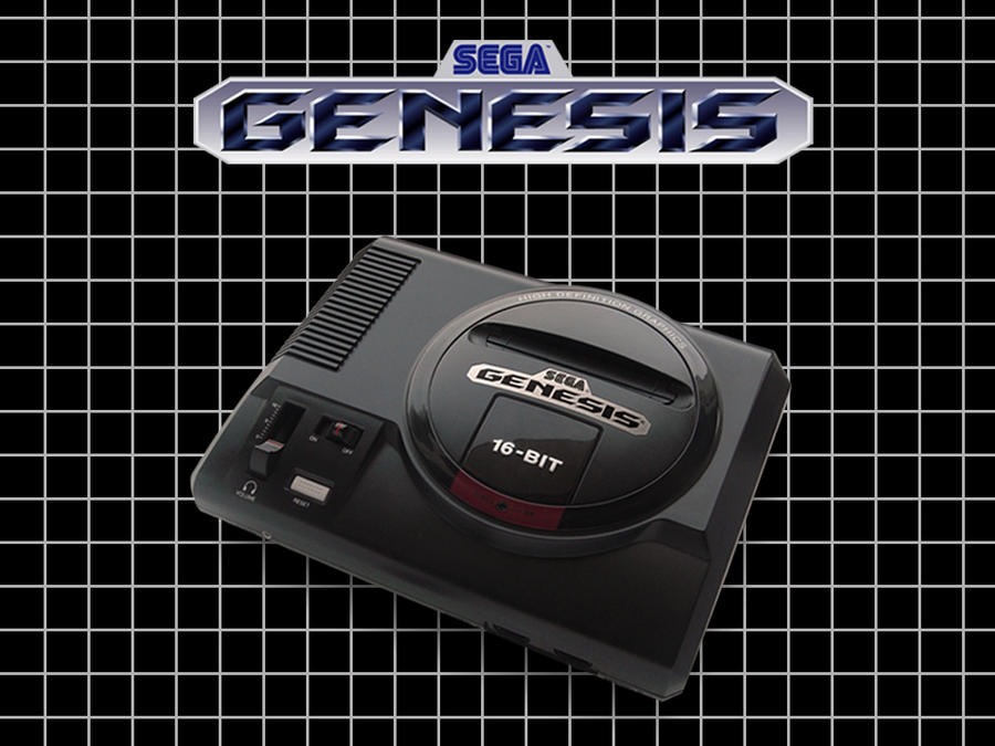 sega wallpaper. Sega Genesis Wallpaper by ~GamezAddic on deviantART