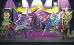 Eqestria Girls Rainbow Rocks Concert