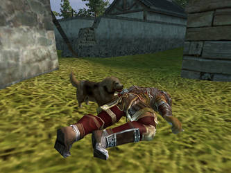 Stupid dog killed meh... by Waterclaw
