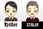 Hitler And Stalin Anime Face Maker 2