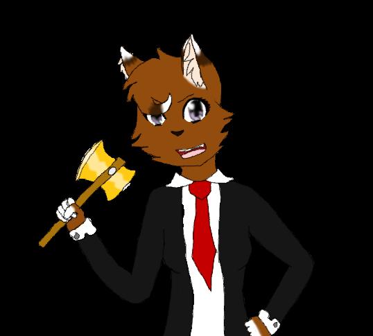 I'm the NEW Fluffy! by warriorwolf12345