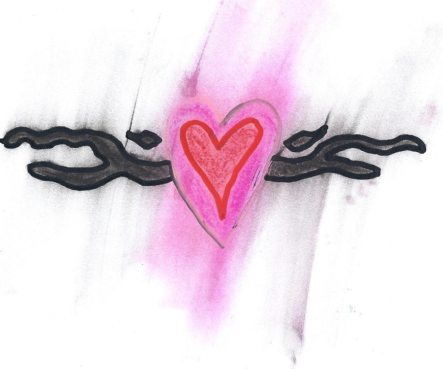 music heart tattoo. heart tattoo by ~i-lurve-music