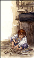 The little archer by Naa-