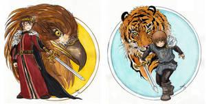 Valachian symbols by Naa-