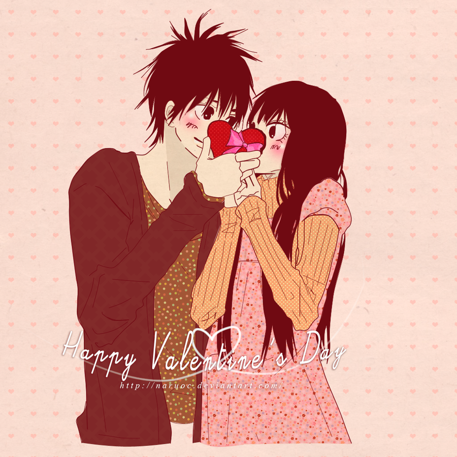 Happy valentine 39 s day knt by naruoc on deviantart - Happy valentines day anime ...