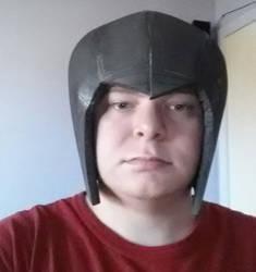 Mega man X helmet WIP by HellBent-Cosplay