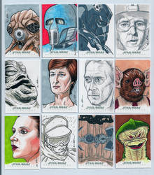 Topps Star Wars Chrome Perspectives Sketch Cards 3