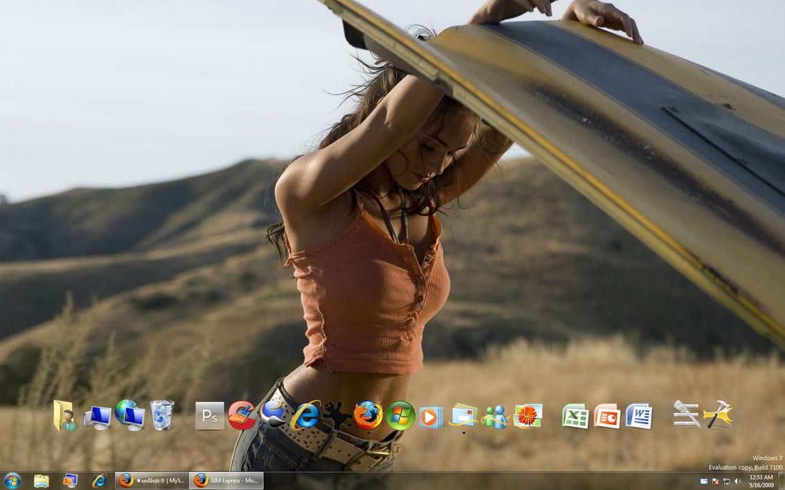 May desktop by GateFan