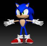 Sonic Modern 3d