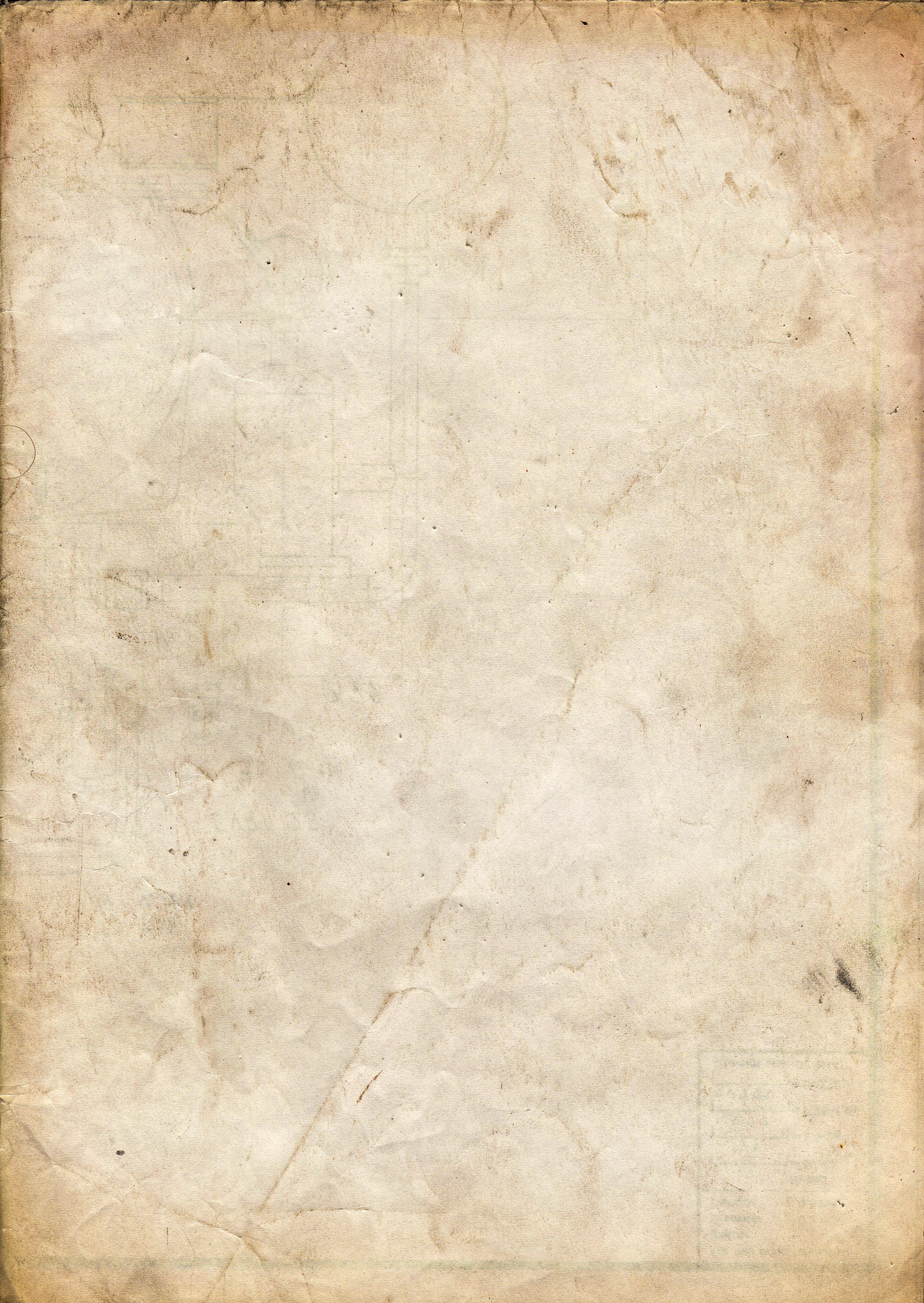 Old Yellowed Paper by PanzerTM