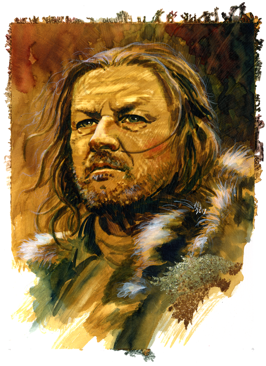 Ned Stark by kenmeyerjr