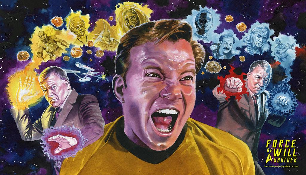 Force of Will Shatner playmat (Shatmat) by kenmeyerjr