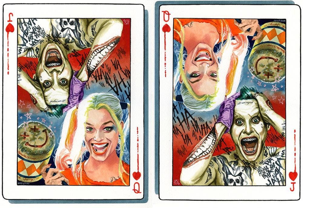 Joker and Harley by kenmeyerjr