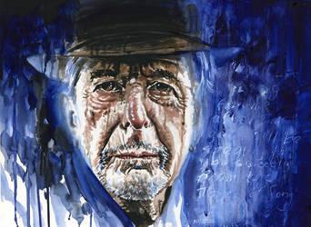 Leonard Cohen by kenmeyerjr