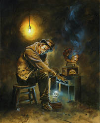 Tom Waits by kenmeyerjr