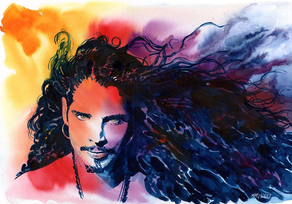 Chris Cornell by kenmeyerjr