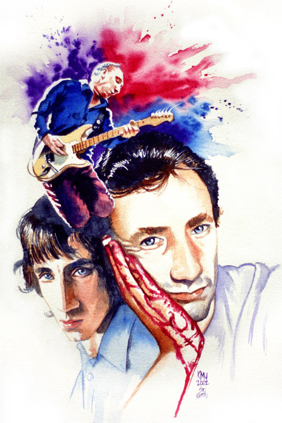 Pete Townshend by kenmeyerjr