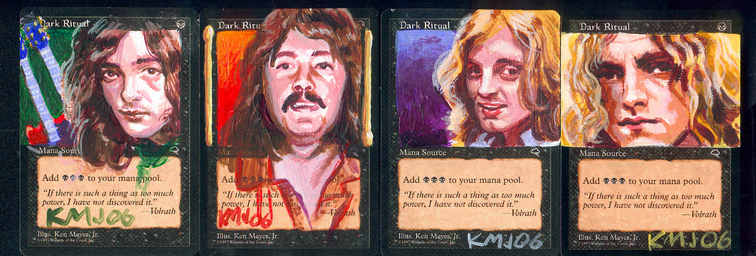 Zeppelin cards by kenmeyerjr