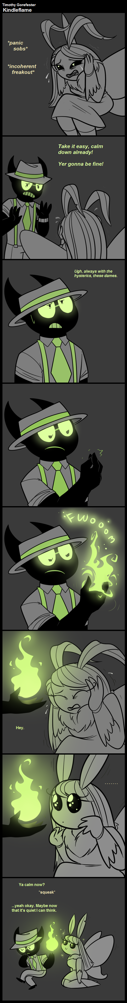 TGf Comic - Kindleflame by blinkpen
