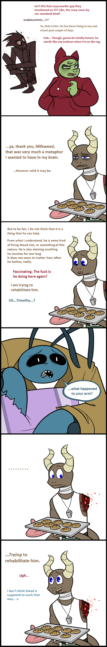 TGf MiniComic - Cookies by blinkpen